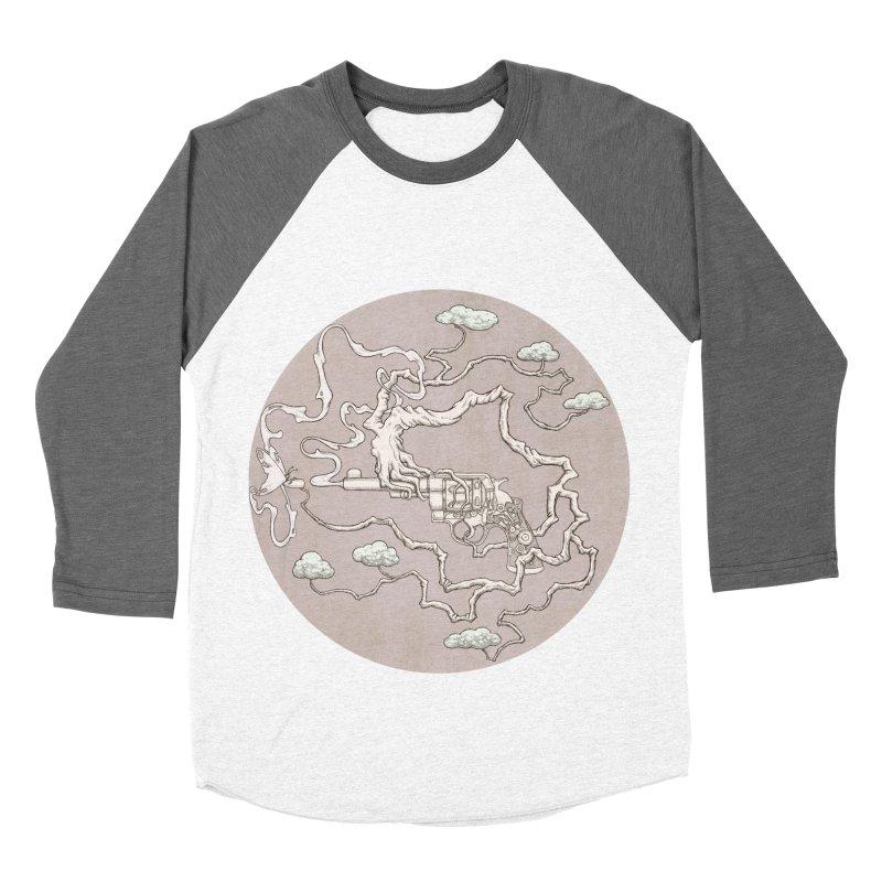 slow gun Men's Baseball Triblend T-Shirt by makapa's Artist Shop