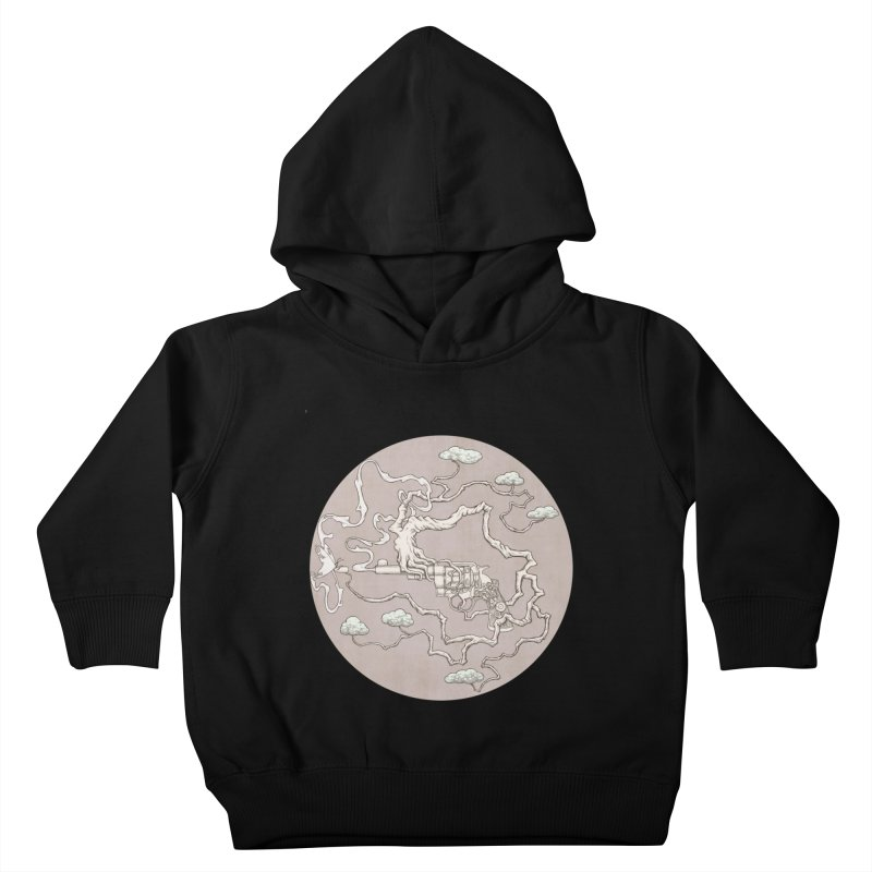 slow gun Kids Toddler Pullover Hoody by makapa's Artist Shop