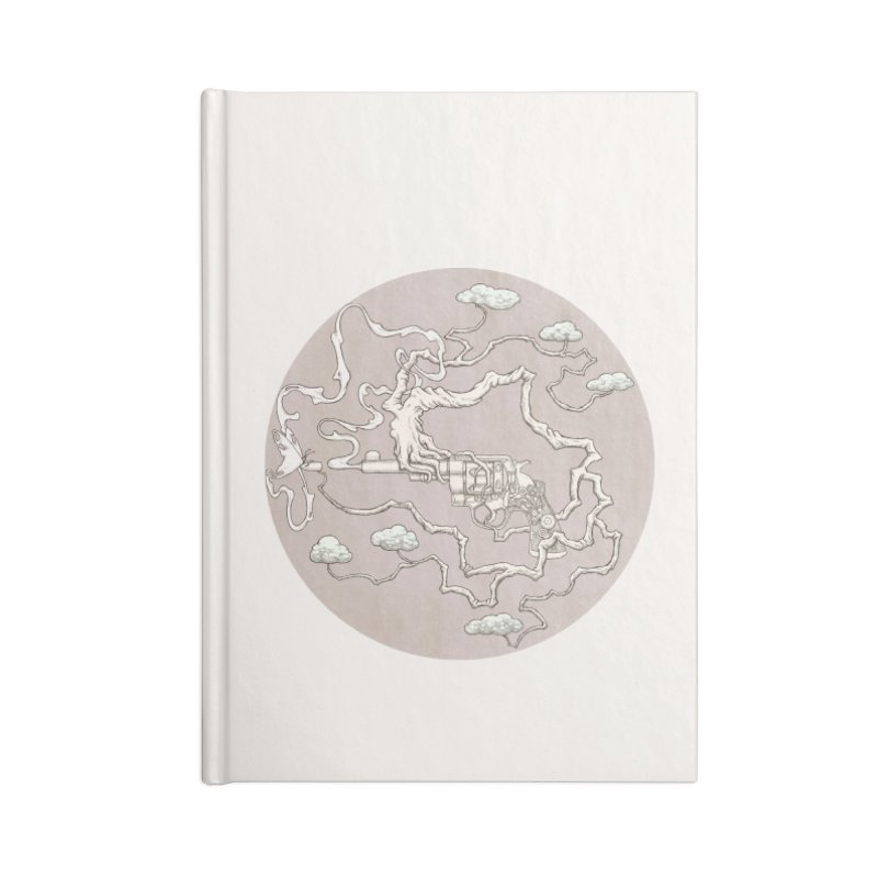 slow gun Accessories Notebook by makapa's Artist Shop