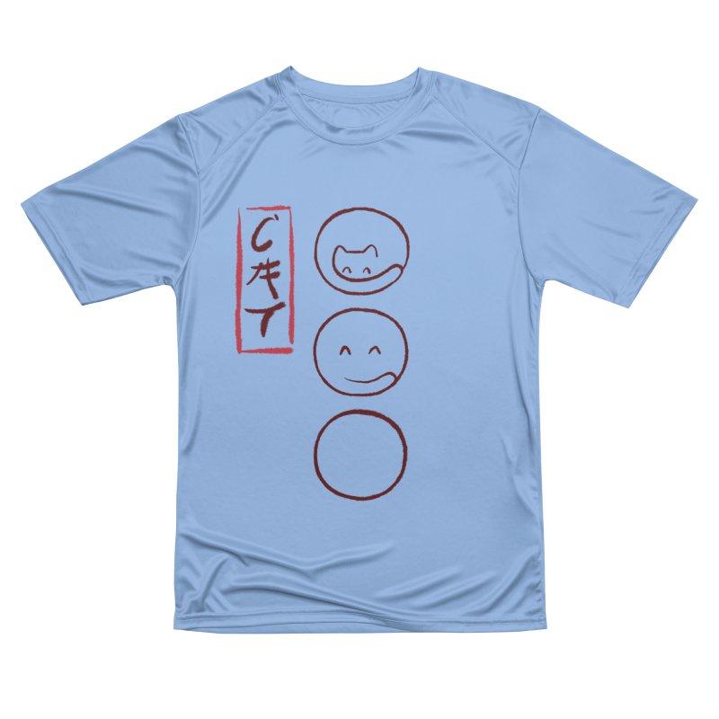 Zen cat Men's T-Shirt by makapa's Artist Shop