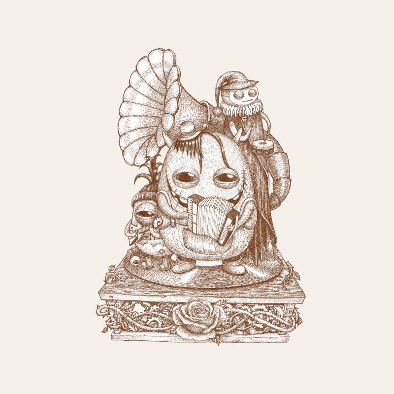 Monster band Men's T-Shirt by makapa's Artist Shop