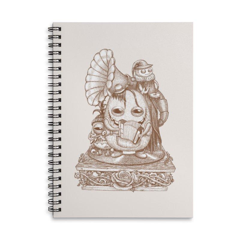 Monster band Accessories Notebook by makapa's Artist Shop
