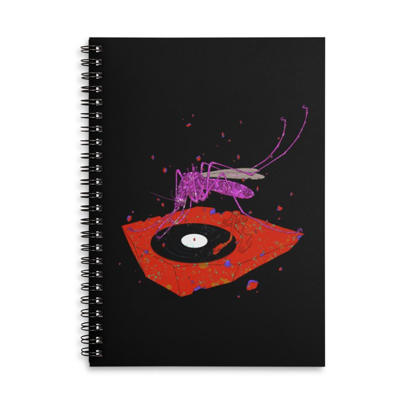 Mosquito king Accessories Notebook by makapa's Artist Shop