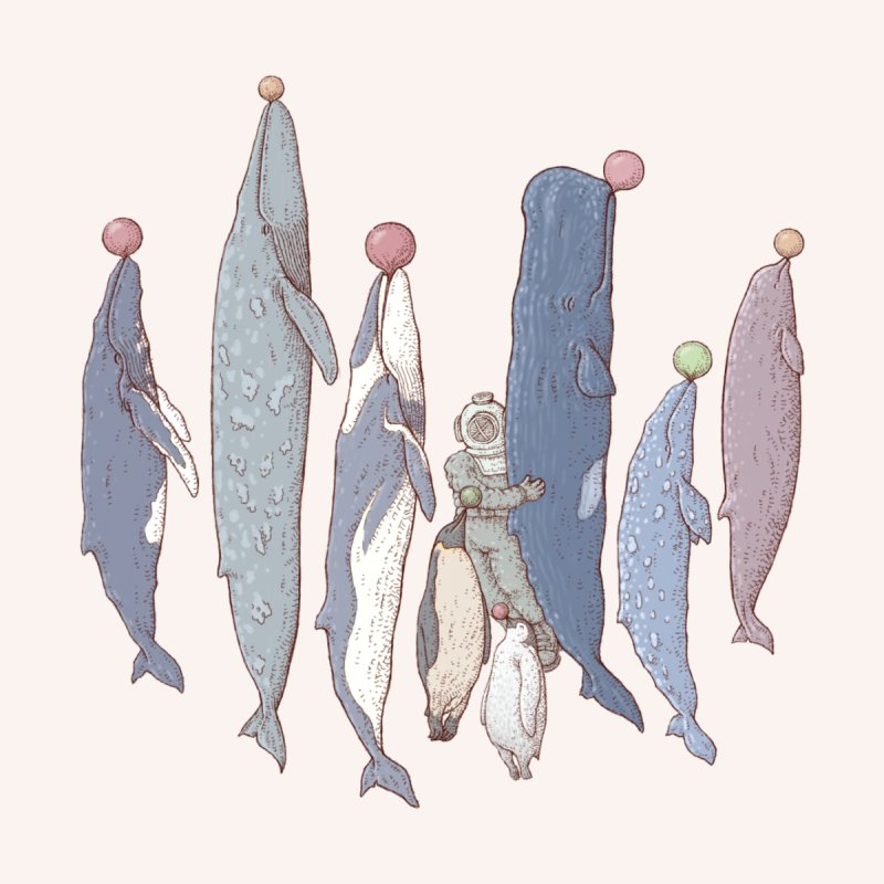 Sleepwalking sea Accessories Skateboard by makapa's Artist Shop