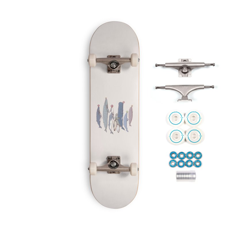 Sleepwalking sea Accessories Skateboard by makapa's Artist Shop