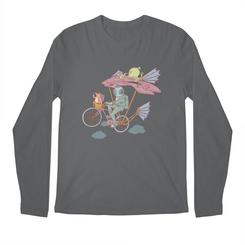 Fly with aquanaut Men's Longsleeve T-Shirt by makapa's Artist Shop