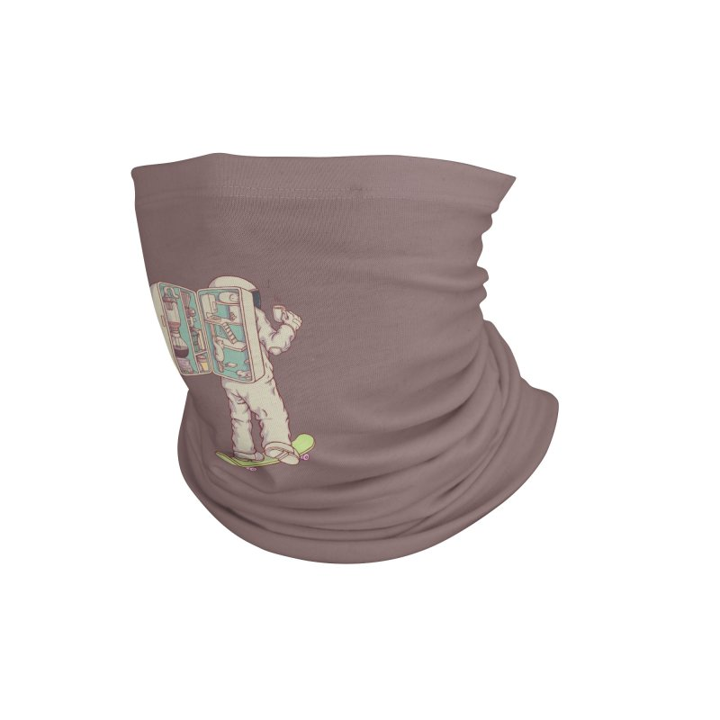 Backpack of astronaut Accessories Neck Gaiter by makapa's Artist Shop