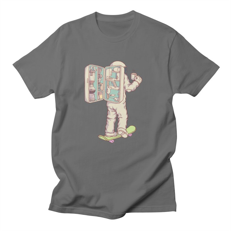 Backpack of astronaut Men's T-Shirt by makapa's Artist Shop