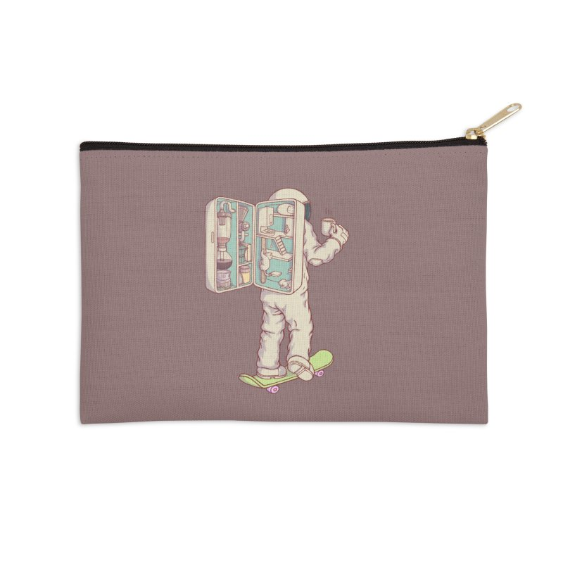 Backpack of astronaut Accessories Zip Pouch by makapa's Artist Shop