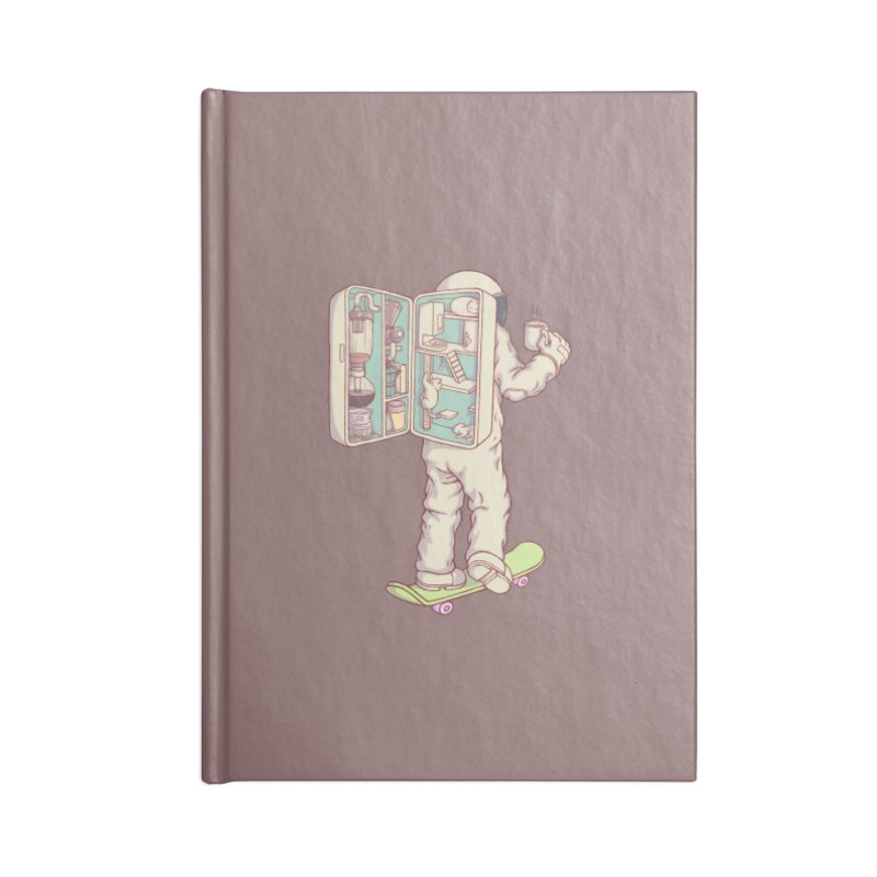 Backpack of astronaut Accessories Notebook by makapa's Artist Shop