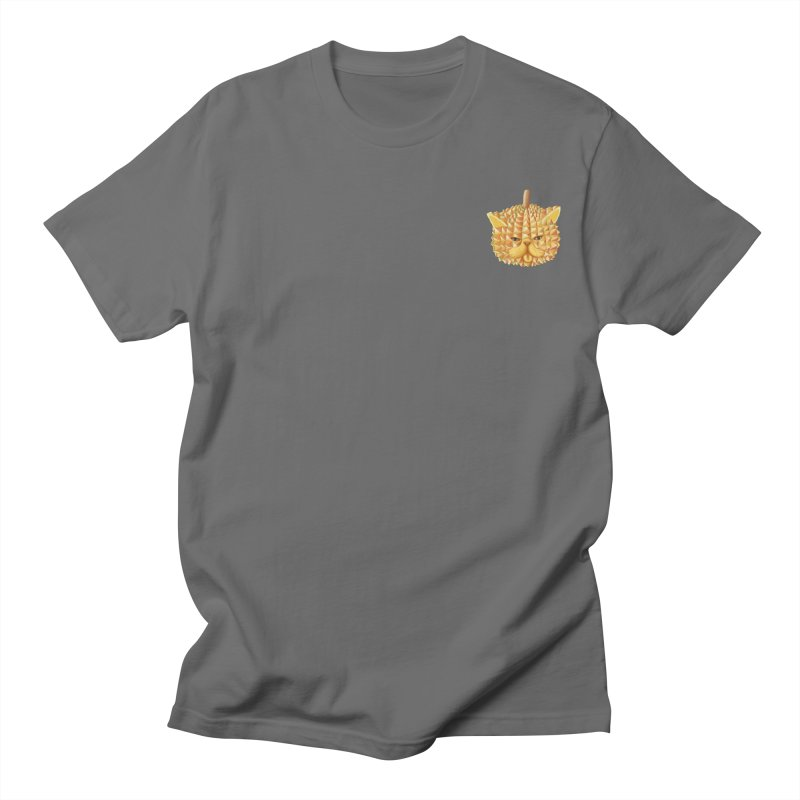 Durian cat (mini) Men's T-Shirt by makapa's Artist Shop