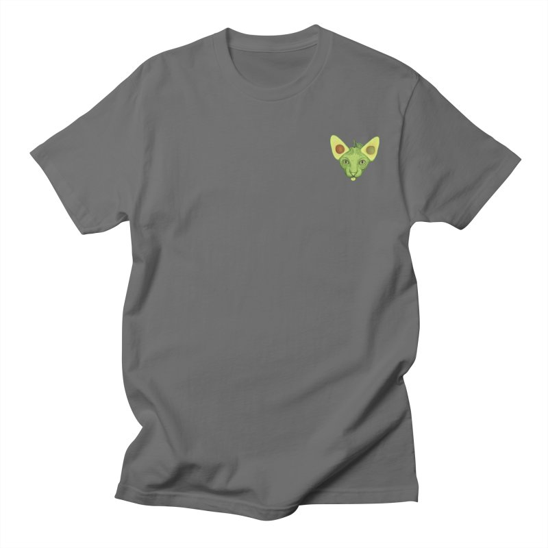 Avocado cat (mini) Men's T-Shirt by makapa's Artist Shop