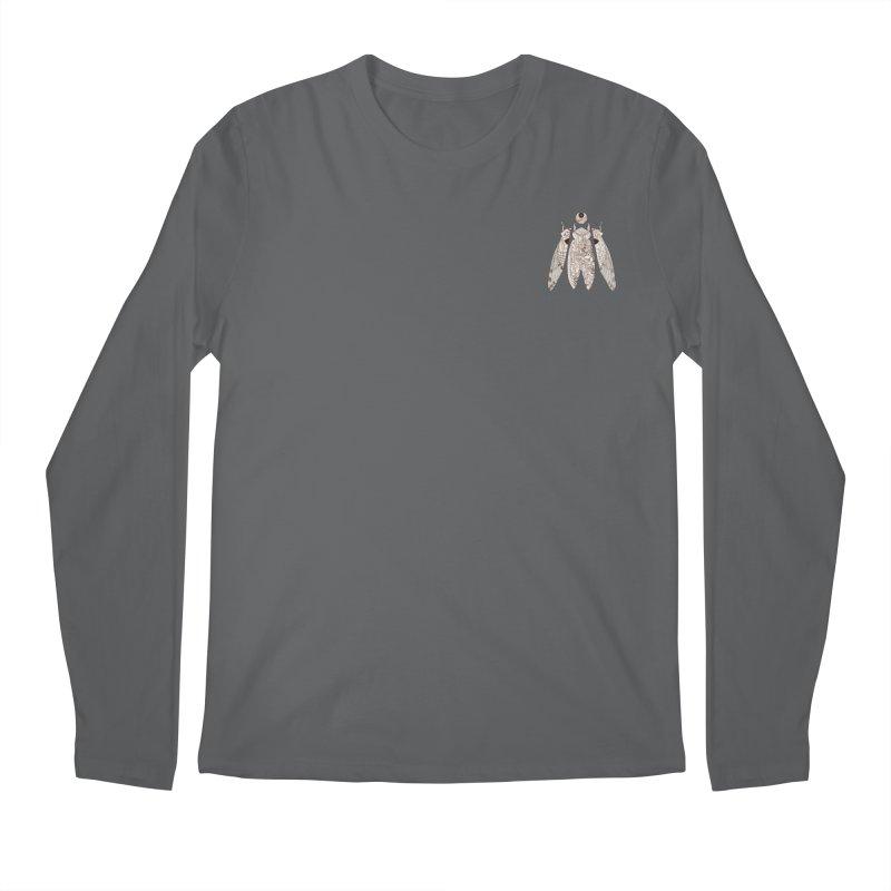 Cicada poem (mini) Men's Longsleeve T-Shirt by makapa's Artist Shop