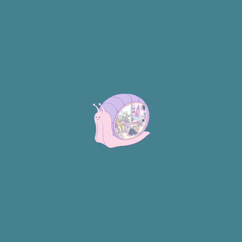 Snail anatomy (mini) Kids T-Shirt by makapa's Artist Shop
