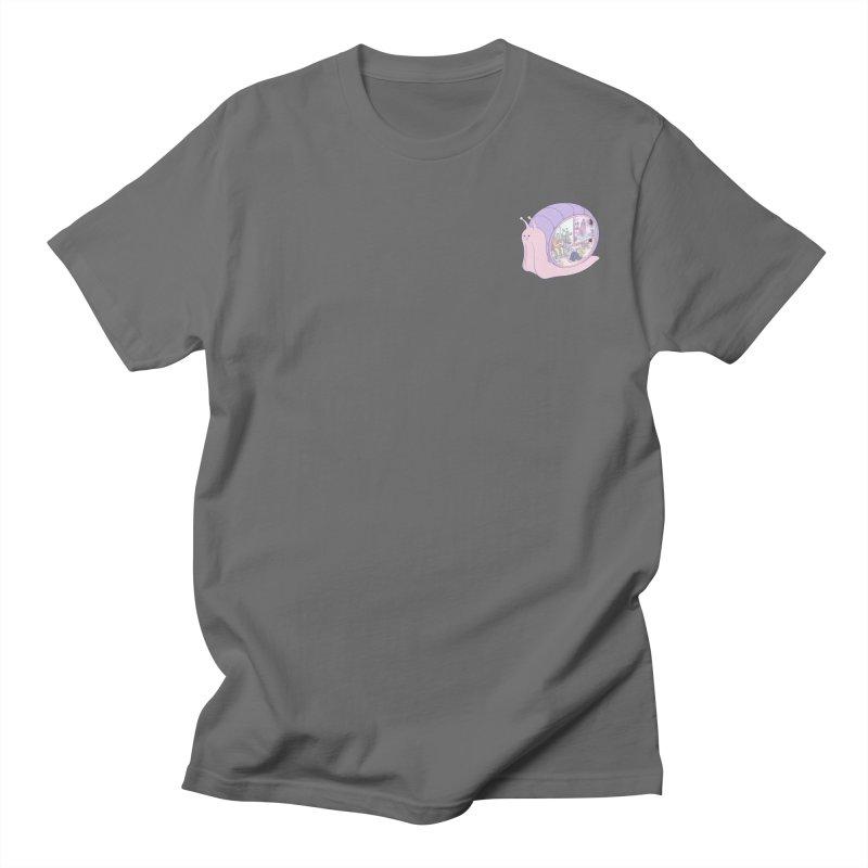 Snail anatomy (mini) Men's T-Shirt by makapa's Artist Shop