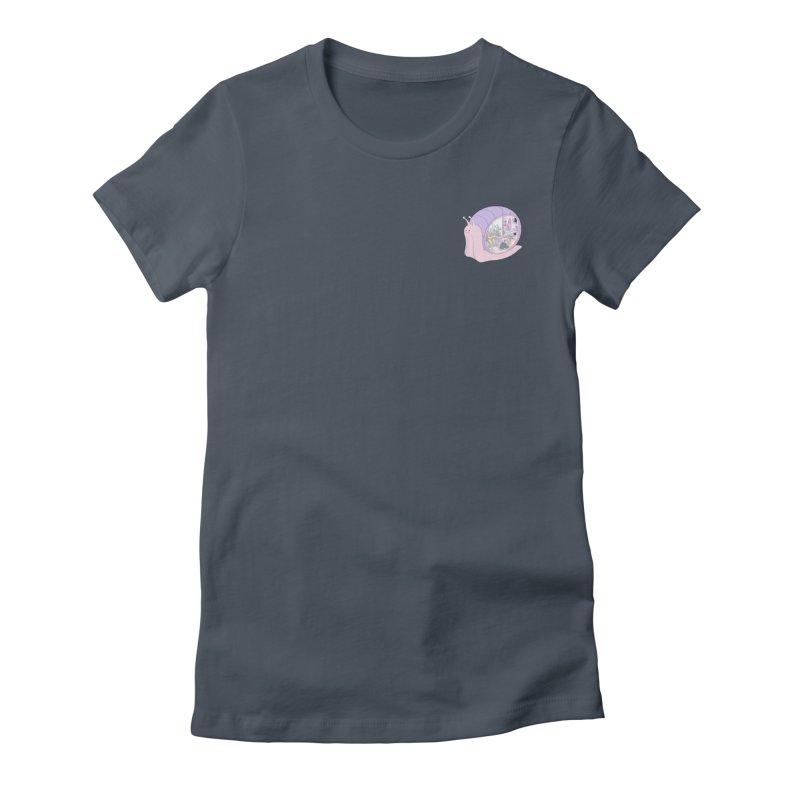 Snail anatomy (mini) Women's T-Shirt by makapa's Artist Shop