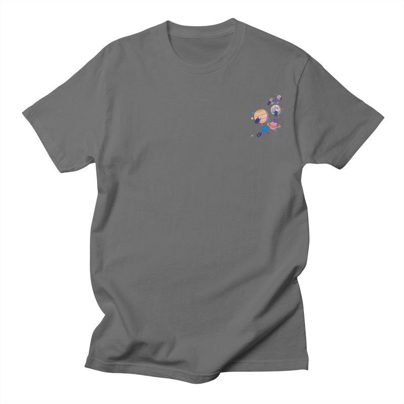 Rolling stars (mini) Men's T-Shirt by makapa's Artist Shop