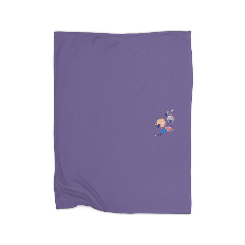 Rolling stars (mini) Home Blanket by makapa's Artist Shop