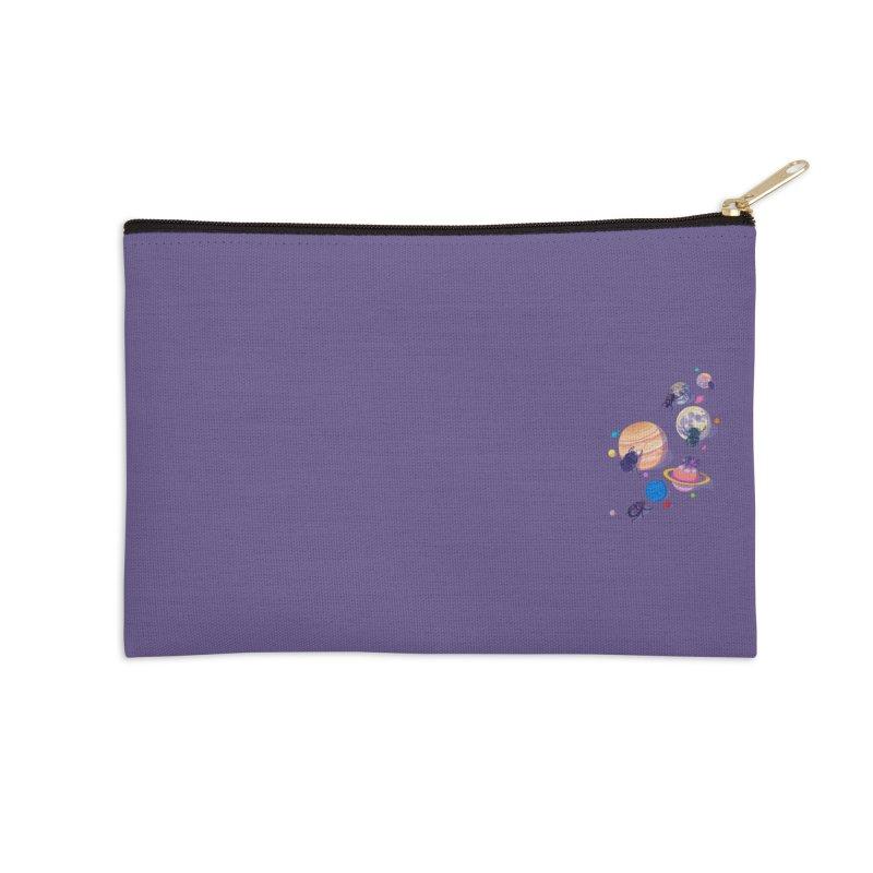Rolling stars (mini) Accessories Zip Pouch by makapa's Artist Shop