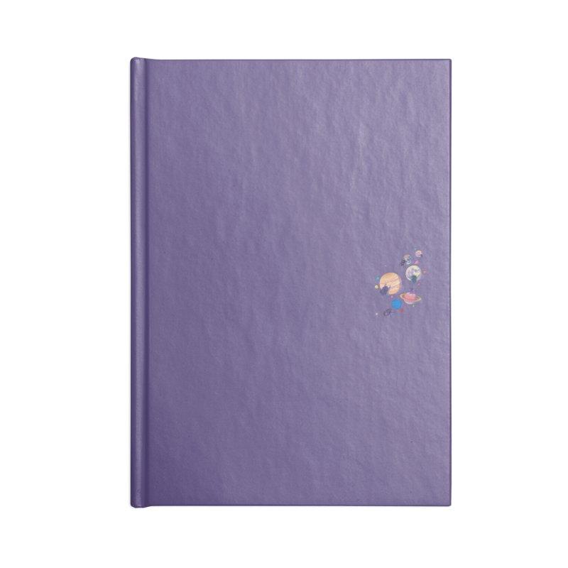Rolling stars (mini) Accessories Notebook by makapa's Artist Shop