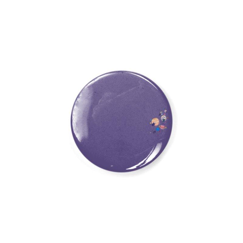 Rolling stars (mini) Accessories Button by makapa's Artist Shop