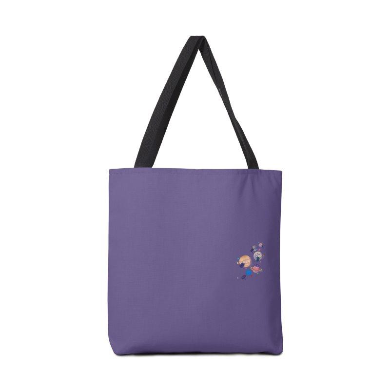 Rolling stars (mini) Accessories Bag by makapa's Artist Shop