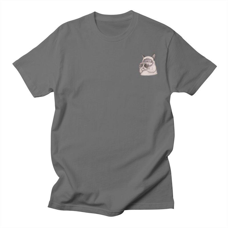 Cheese original(mini) Men's T-Shirt by makapa's Artist Shop