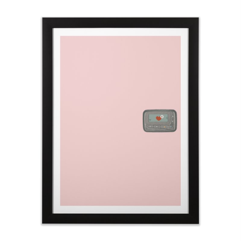 You have a new love (mini) Home Framed Fine Art Print by makapa's Artist Shop