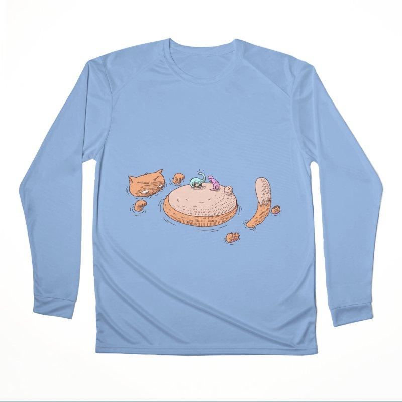 Catnosaur Women's Longsleeve T-Shirt by makapa's Artist Shop