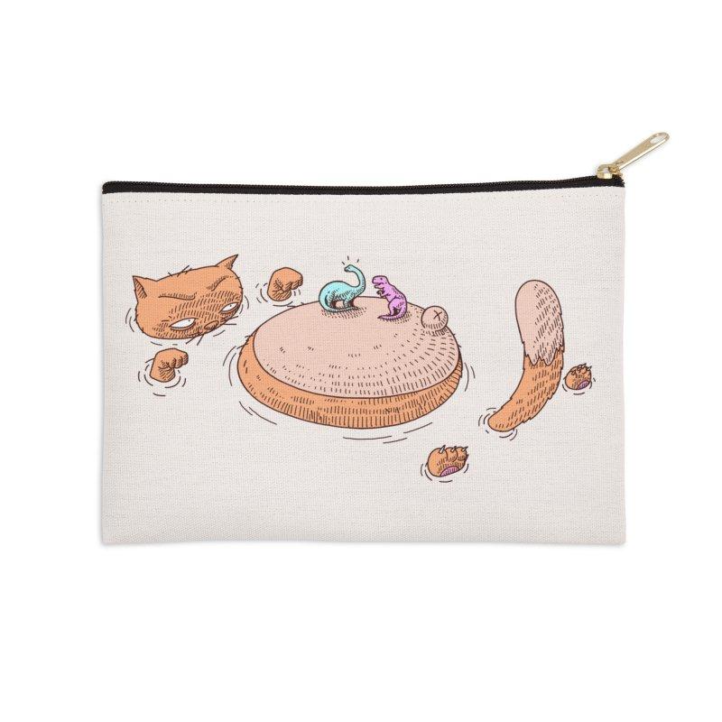 Catnosaur Accessories Zip Pouch by makapa's Artist Shop