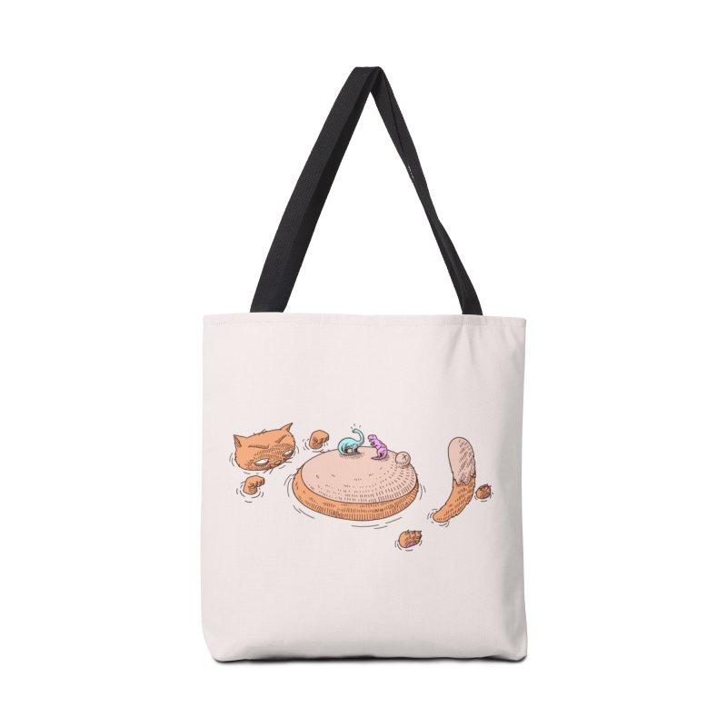 Catnosaur Accessories Bag by makapa's Artist Shop