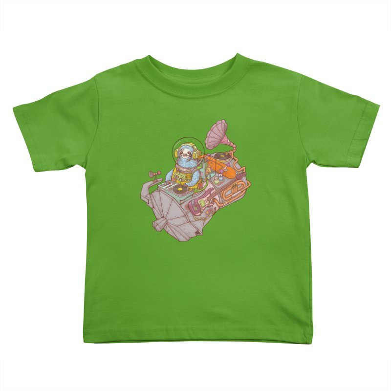 Chill space Kids Toddler T-Shirt by makapa's Artist Shop