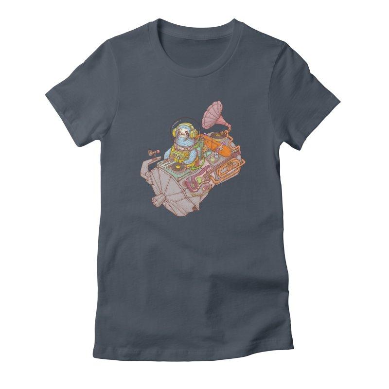 Chill space Women's T-Shirt by makapa's Artist Shop