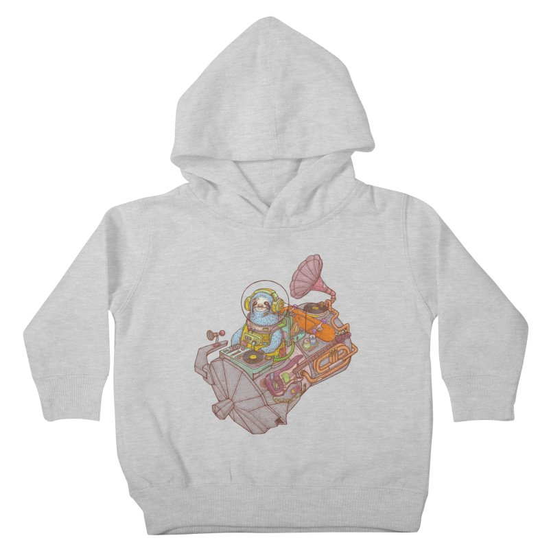 Chill space Kids Toddler Pullover Hoody by makapa's Artist Shop