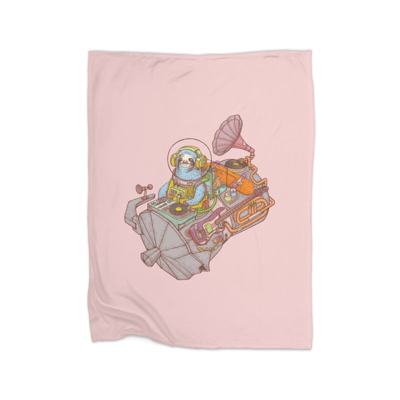 Chill space Home Blanket by makapa's Artist Shop
