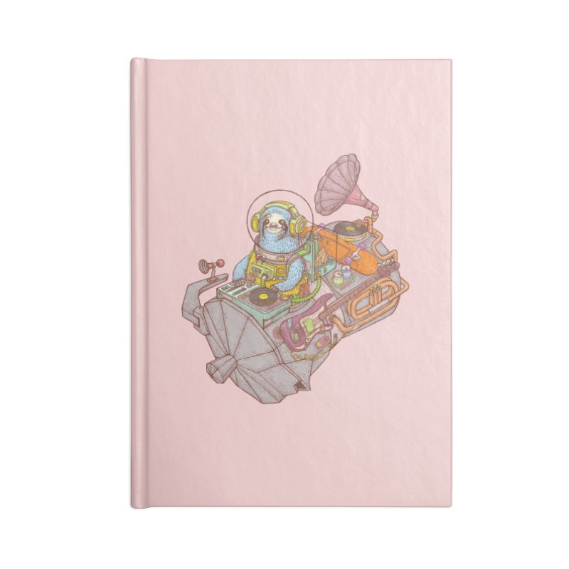Chill space Accessories Notebook by makapa's Artist Shop