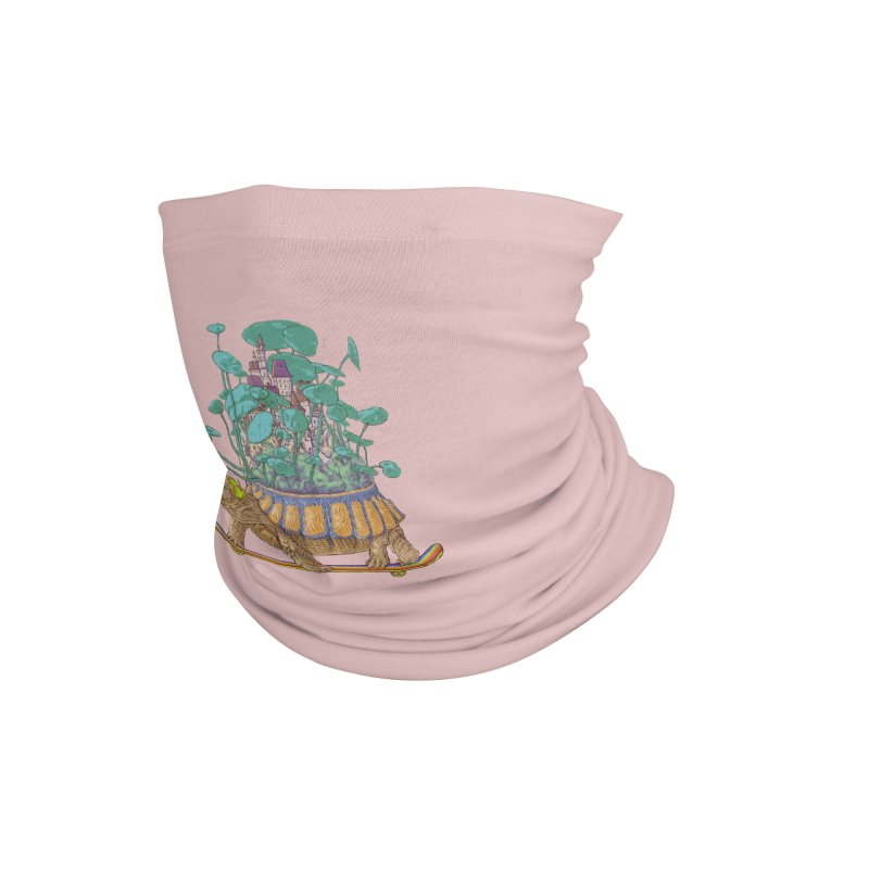 Turtle's moving castle 02 Accessories Neck Gaiter by makapa's Artist Shop