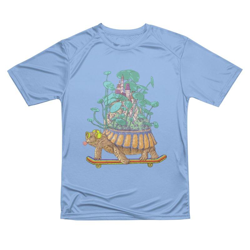 Turtle's moving castle 02 Men's T-Shirt by makapa's Artist Shop