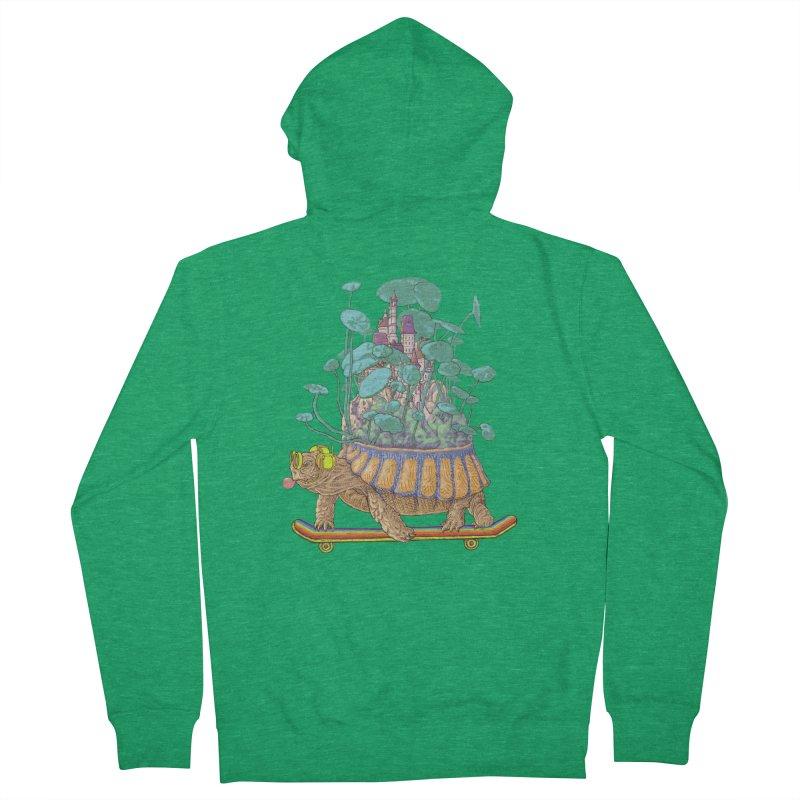 Turtle's moving castle 02 Women's Zip-Up Hoody by makapa's Artist Shop