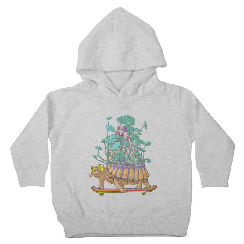 Turtle's moving castle 02 Kids Toddler Pullover Hoody by makapa's Artist Shop
