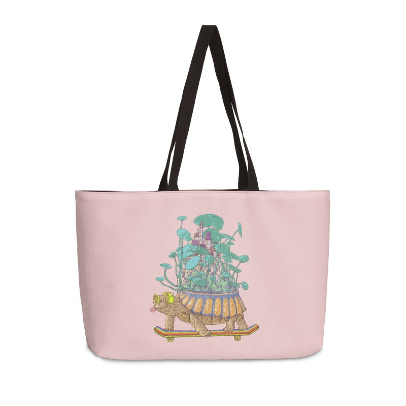 Turtle's moving castle 02 Accessories Bag by makapa's Artist Shop