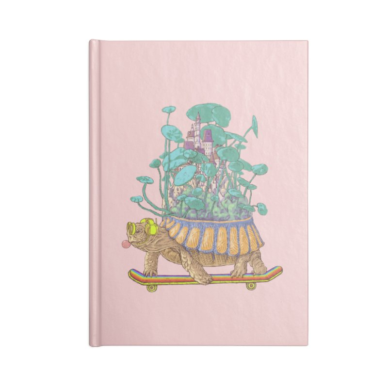 Turtle's moving castle 02 Accessories Notebook by makapa's Artist Shop