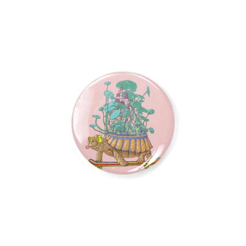 Turtle's moving castle 02 Accessories Button by makapa's Artist Shop