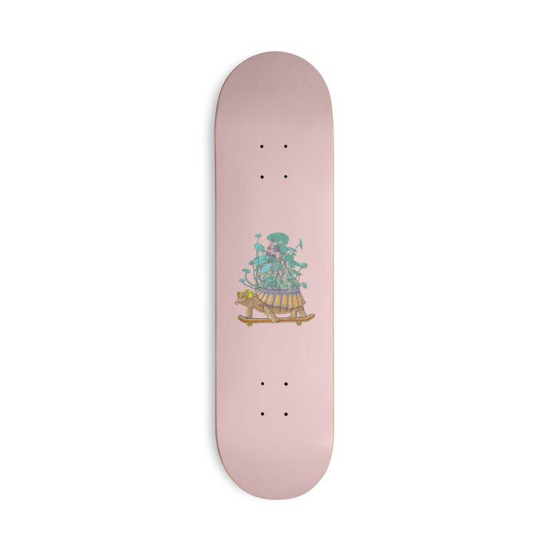 Turtle's moving castle 02 Accessories Skateboard by makapa's Artist Shop