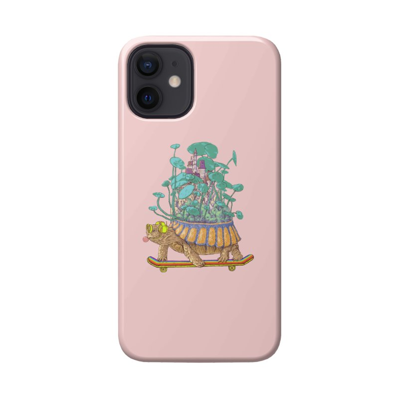 Turtle's moving castle 02 Accessories Phone Case by makapa's Artist Shop