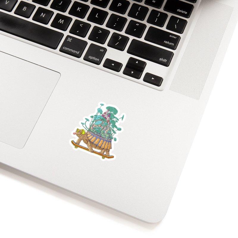 Turtle's moving castle 02 Accessories Sticker by makapa's Artist Shop