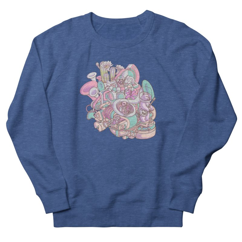 Smooth jazz spaceship Men's Sweatshirt by makapa's Artist Shop