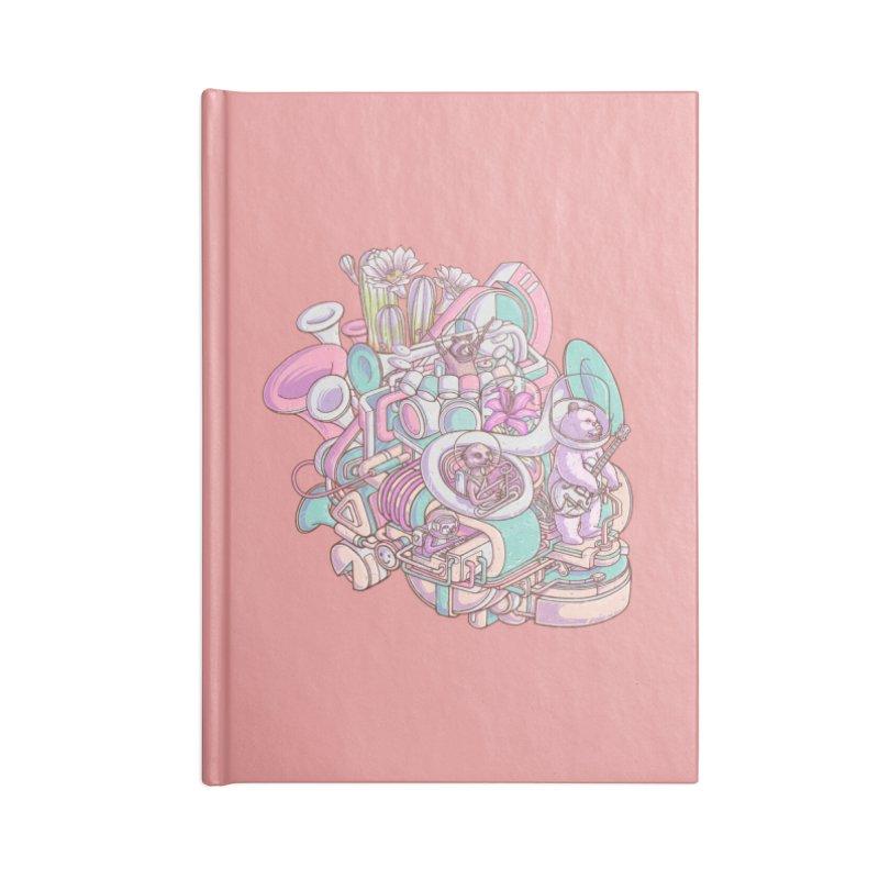 Smooth jazz spaceship Accessories Notebook by makapa's Artist Shop