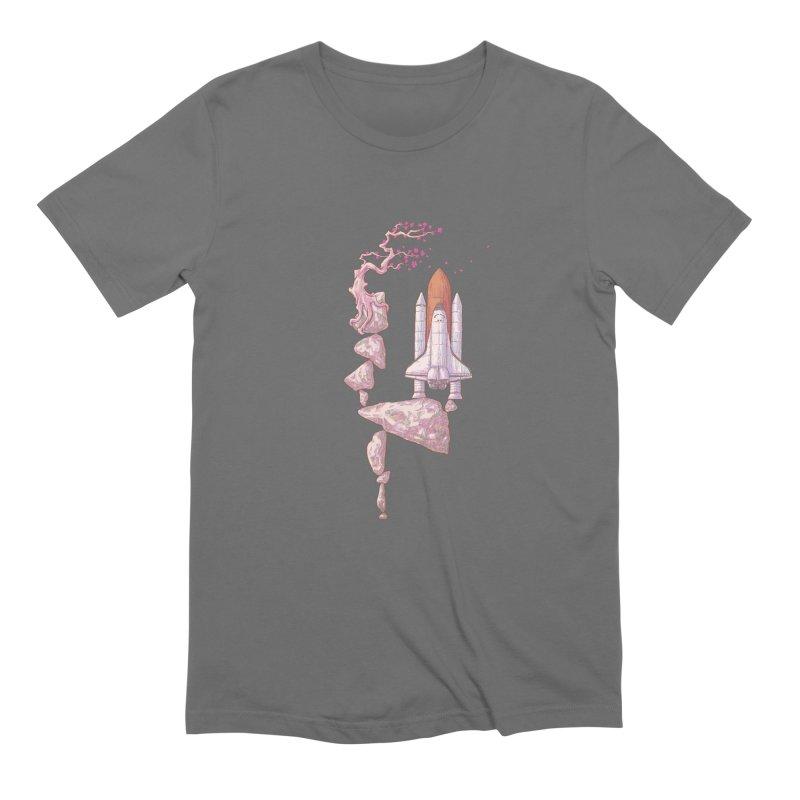Zen of gravity 02 Men's T-Shirt by makapa's Artist Shop