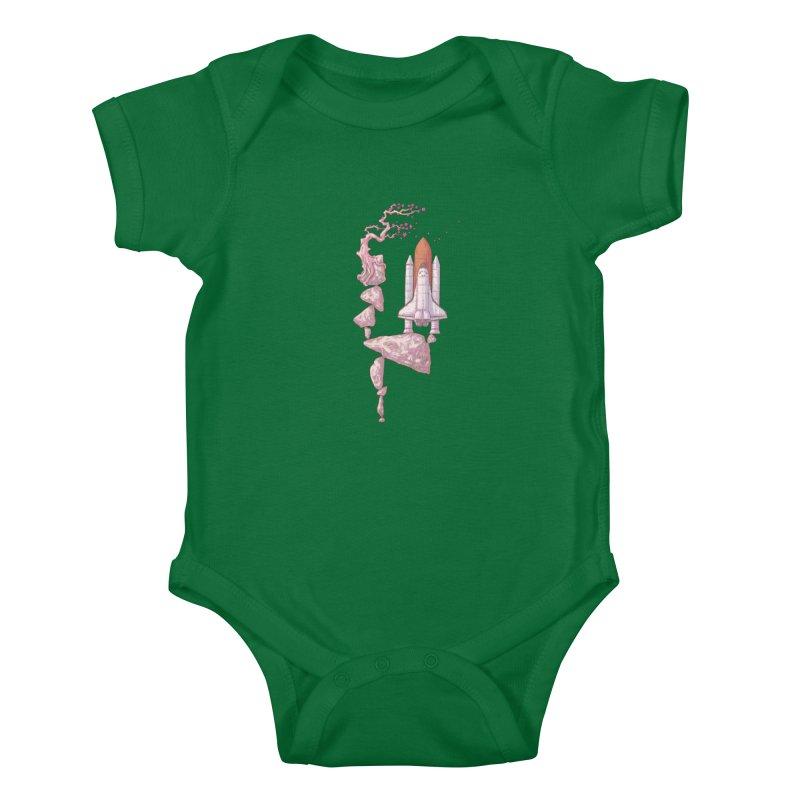 Zen of gravity 02 Kids Baby Bodysuit by makapa's Artist Shop